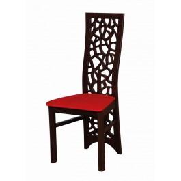buková masívna stolička Mozaika