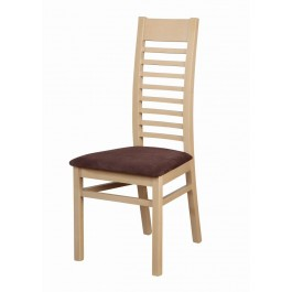 buková masívna stolička Ester