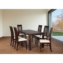 Bukový set stôl + stoličky č.60
