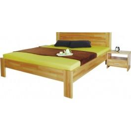 Masívna buková posteľ Gerda