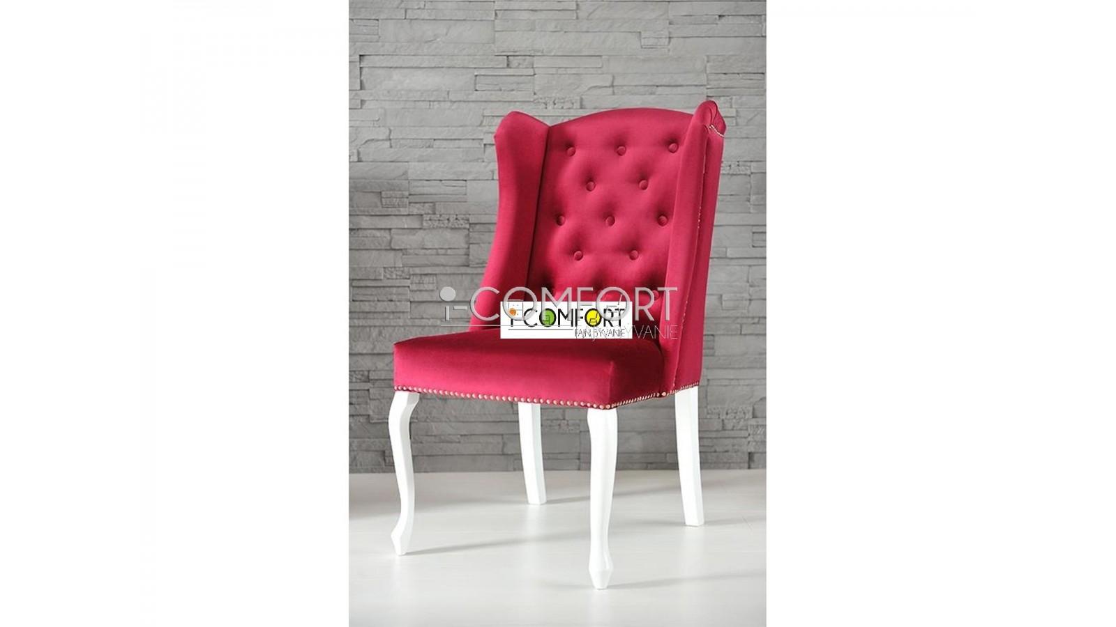 masívna bukovo - čalúnená stolička Celeste