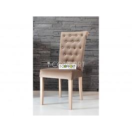 masívna bukovo - čalúnená stolička Musson