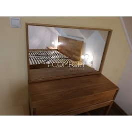 Zrkadlo Lozzane k dubovému toaletnému stolíku