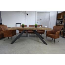 Industriál dubový stôl, nohy A