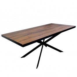 Industriál HDF stôl, nohy 2X