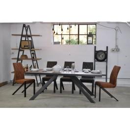 Industriál HDF stôl, nohy A