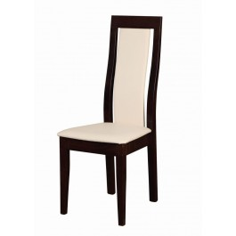 buková masívna stolička Kansas