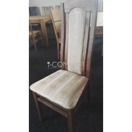 masívna dubová stolička Salma