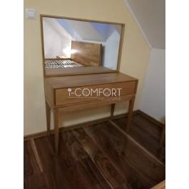Lozzane dubový toaletný stolík so zásuvkou