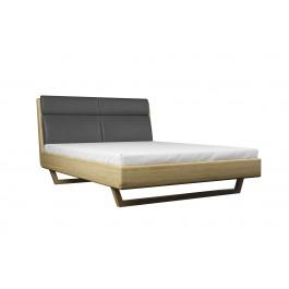 Masívna dubová a jaseňová posteľ ANNA 140/160/180 x 200 cm