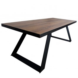 Industriál HDF stôl, nohy U