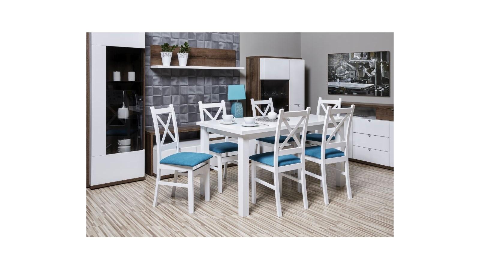 6 x buková stolička 65 + stôl
